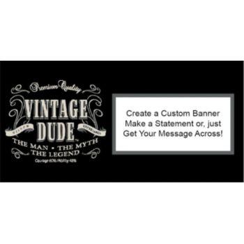 Vintage Dude Custom Banner