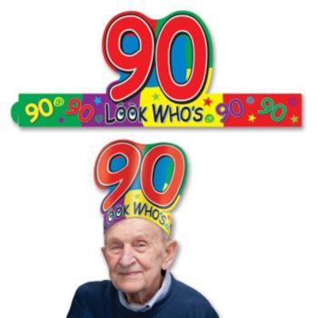 Look Who's 90 Crown