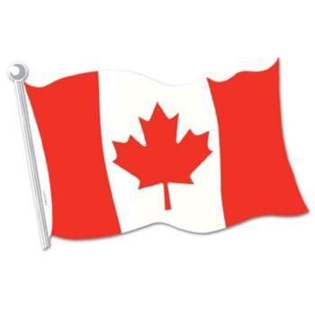 Canadian Flag Cutout