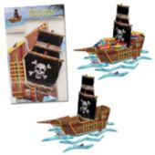 Pirate Ship Centerpiece-18 1/2""