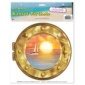 Sunset Porthole Peel N' Place