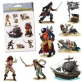 Pirate Stickers - 32 Pack
