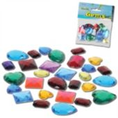 Plastic Gems-30 Per Unit