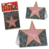 Walk Of Fame Stars Place Cards-12 Pack