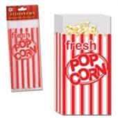 Popcorn Plastic Favor Bags - 25 Pack
