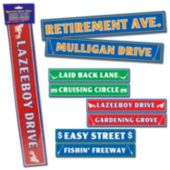 Retirement Sign Cutouts-4 Per Unit