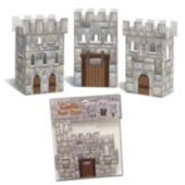 Castle Favor Boxes-3 Per Unit
