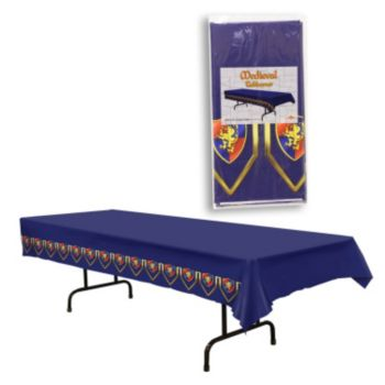 Medieval times Plastic Table Cover