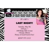 Bachelorette Party Photo Personalized Invitations