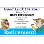 Retirement Photo Personalized Invitations