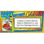 Celebrate 50 Custom Photo Banner