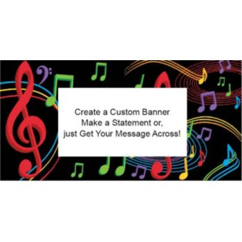 Musical Memories Cutom Banner