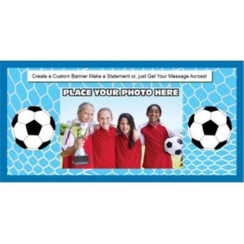 Soccer Stars Custom Photo Banner