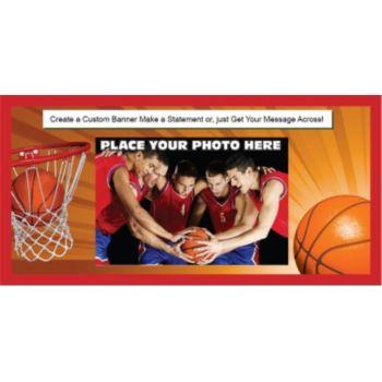 Basketball Players Custom Photo Banner