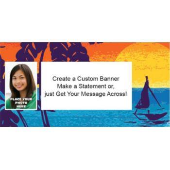 Aloha Summer Photo Banner