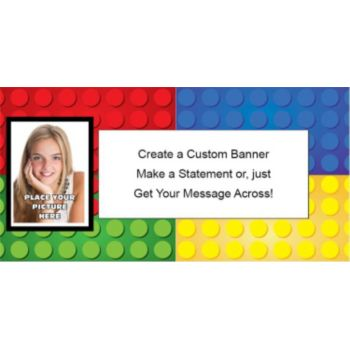 Building Blocks Custom Photo Banner