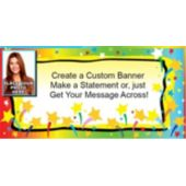 Shooting Stars Custom Photo Banner