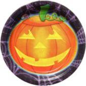 """Playful Pumpkins 7"""" Plates - 50 Pack"""