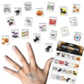 Halloween Tattoo Value Pack - 120 Pack