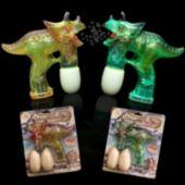Dinosaur LED Toy Bubble Gun