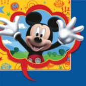Mickey's Clubhouse Lunch Napkins - 16 Pack