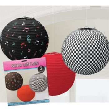 Rock and Roll  Paper Lanterns