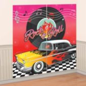Back To the 50's Wall Decorating Kit