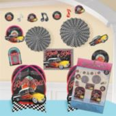 Back To the 50's Room Decorating Kit