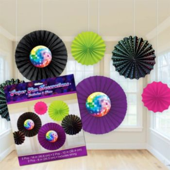 Disco Fever  Fan Decorations