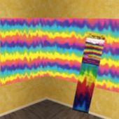 60's Groovy Scene Setter Room Roll
