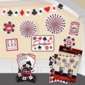 Casino Room Decorating Kit