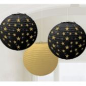 Hollywood Paper Lanterns-3 Pack