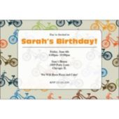 Bicycles Personalized Invitations