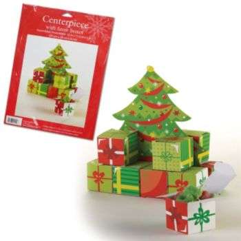 Christmas Tree  Favor Box Centerpiece