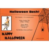 Spooky Fun Custom Photo Personalized Invitations