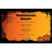 Spooky Pumpkins Personalized Invitations