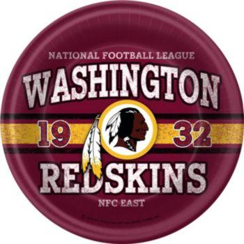 Washington Redskins 9 Inch Plates