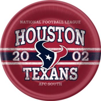 Houston Texans  9 Inch Plates