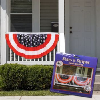 Stars and Stripes Patriotic Bunting - 4 Foot