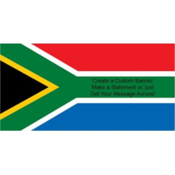 South African Flag Custom Banner