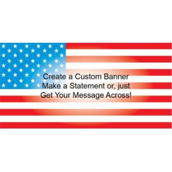USA Flag Custom Banner