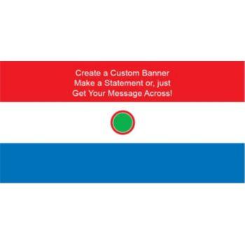 Paraguay Flag Custom Banner