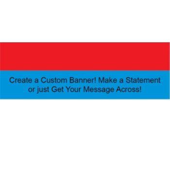 Serbian Flag Custom Banner