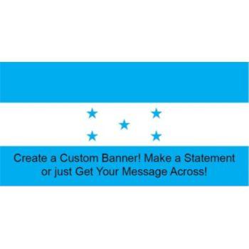 Honduras Flag Custom Banner