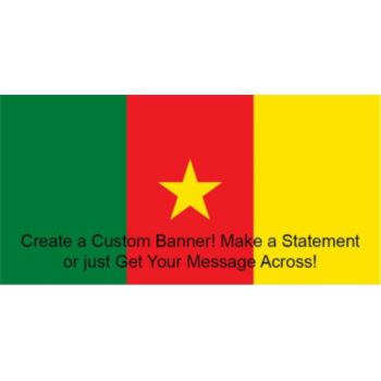 Cameroon Flag Custom Banner