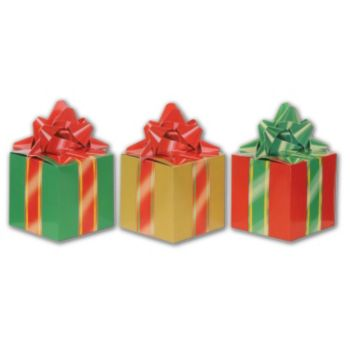 Christmas Present Favor Boxes - 3 Pack