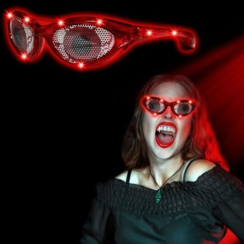 Red Eyes LED Billboard Sunglasses