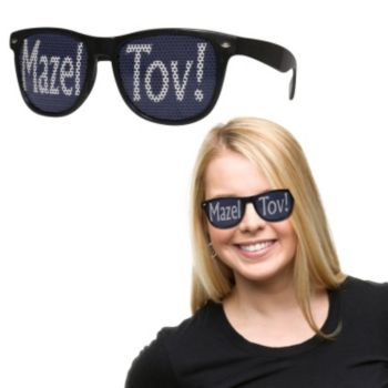 Mazel Tov Billboard Sunglasses