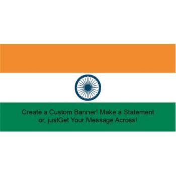 India Flag Custom Banner