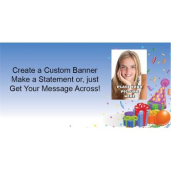 Birthday Fun Custom Photo Banner